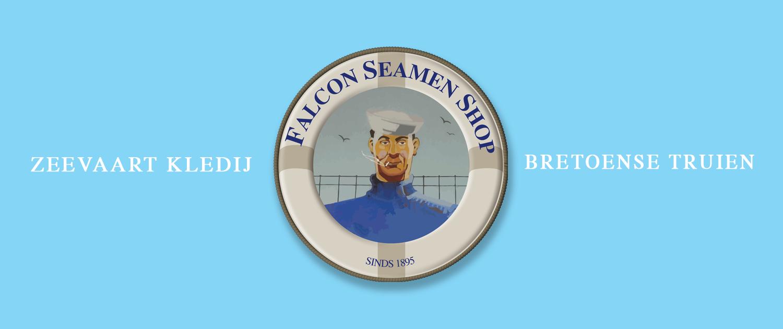 Falcon seamen shop antwerpen zeevaart kledij bretoense truien